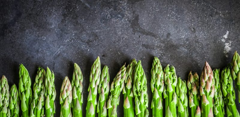 Fresh asparagus in Mallorca