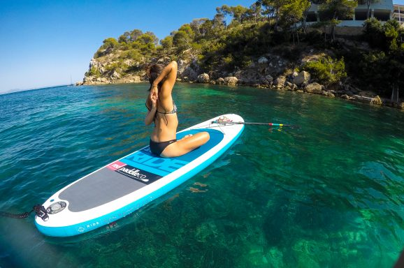 Twilight Yoga…on a Stand Up Paddleboard!